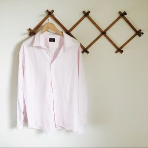 UNTUCKit Light Pink Mens Button up Size XXL